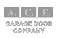 Ace Garage Door Company logo